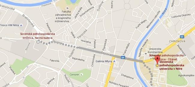 11014e94f Kde nás nájdete - Slovenská poľnohospodárska knižnica pri SPU v Nitre